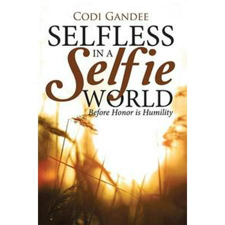 Selfless in a Selfie World - - Post A Halloween Selfie