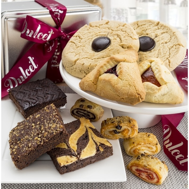 Dulcet Gift Baskets Dulcet Gift Basket Brownie and Cookie Combo Gift Basket