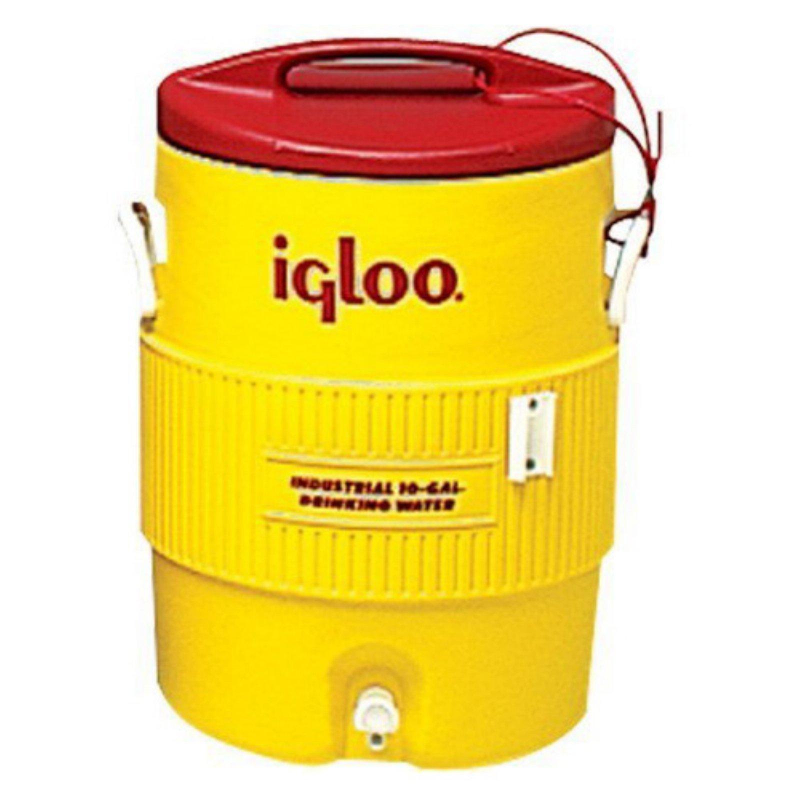 Igloo 10-Gallon Cooler, Yellow