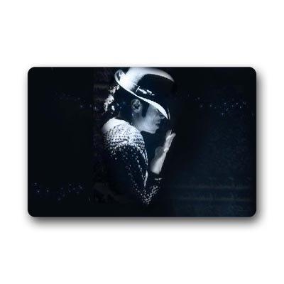 DEYOU Michael Jackson Doormat Outdoor Indoor Floor Mats Non-Slip Bathroom Mats Size 18x30 Inch
