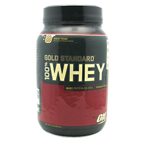 Optimum Nutrition Gold Standard 100% Whey - Rocky Road, 2 lb