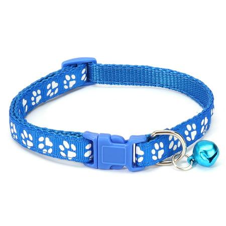 12Pcs Pet Classic Personalized Dog Collar Adjustable Seatbelts 6 Color  - image 6 de 12