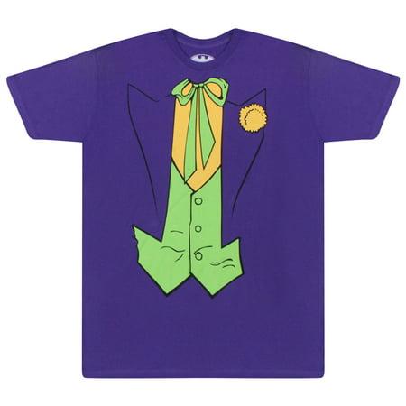 a517b0694 DC - DC Comics Batman Joker Classic Suit Men's Purple T-shirt ...