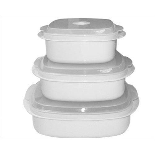 Reston Lloyd Calypso Basics 6 Piece Food Storage Container Set (Set of 2)