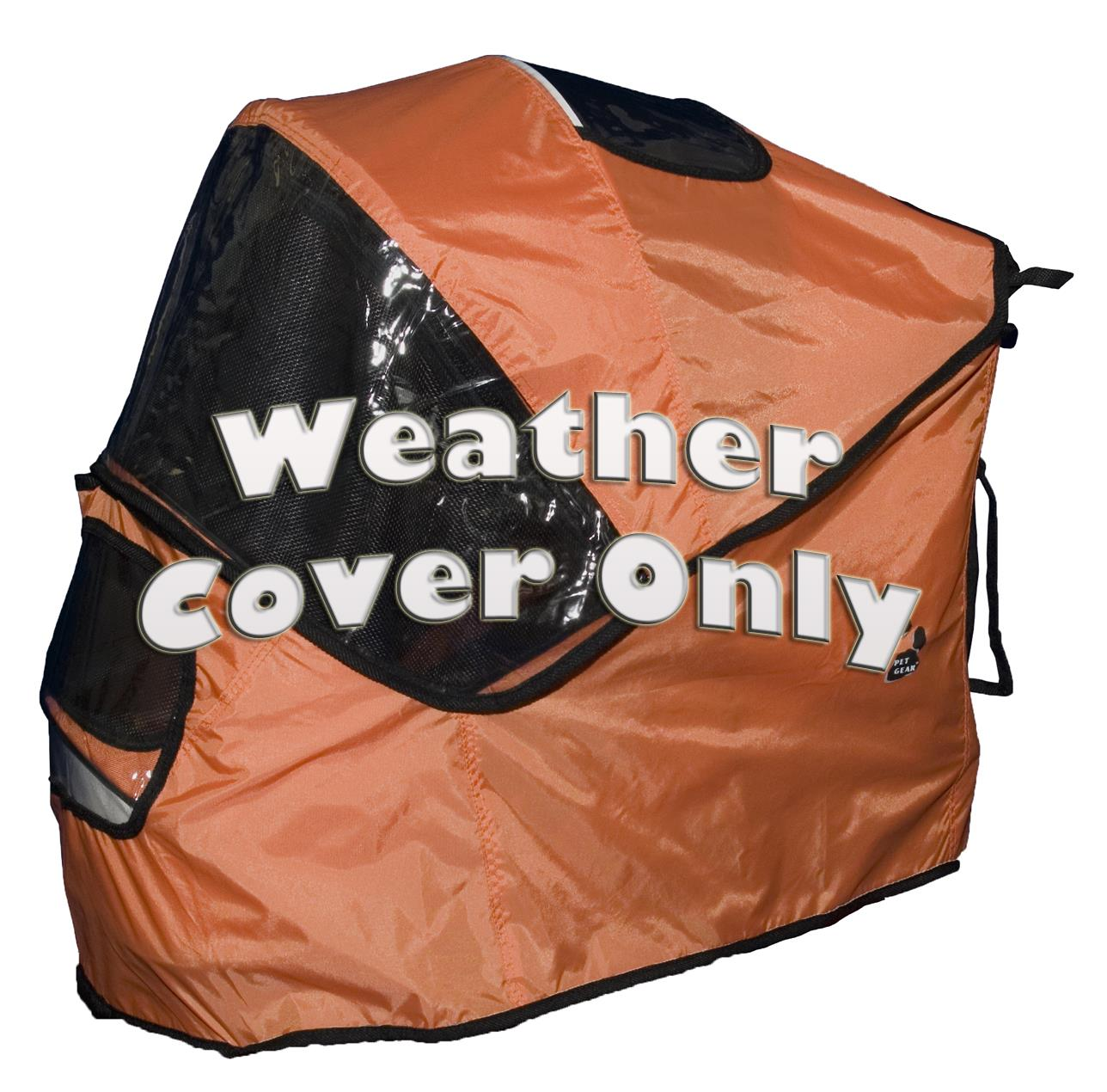 Weather Cover For Sportster Pet Stroller-Color:Mango
