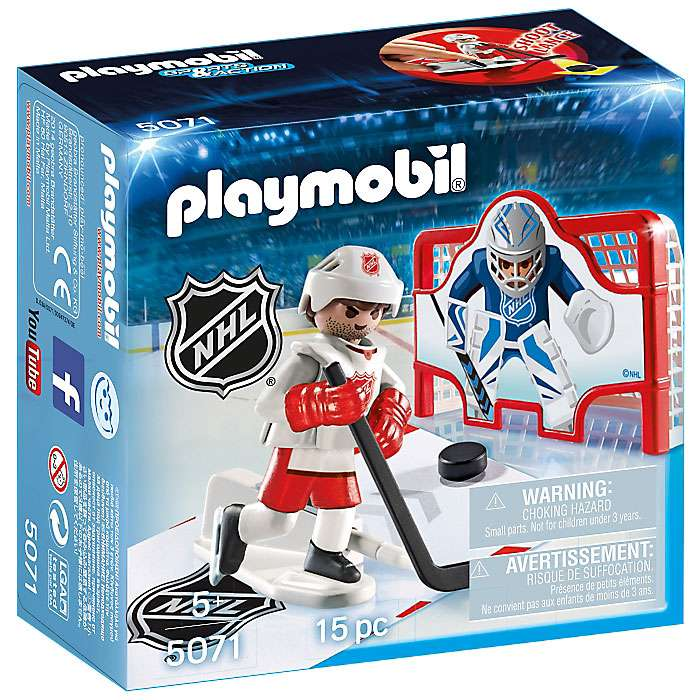 Sports & Action NHL Shooting Pad Set Playmobil 5071
