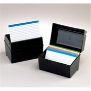 Oxford Plastic Index Card Boxes 3X5