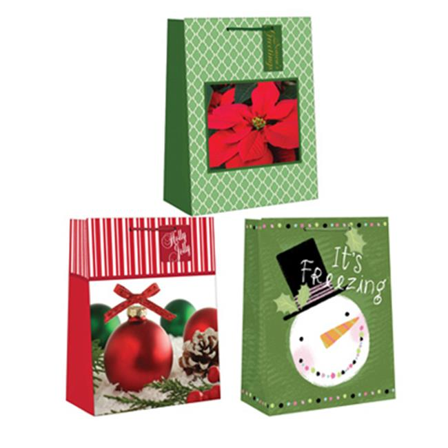 Expressive Design Group CGBA1-84TV Small Gift Bag, Assorted 4 Piece - Pack Of 12