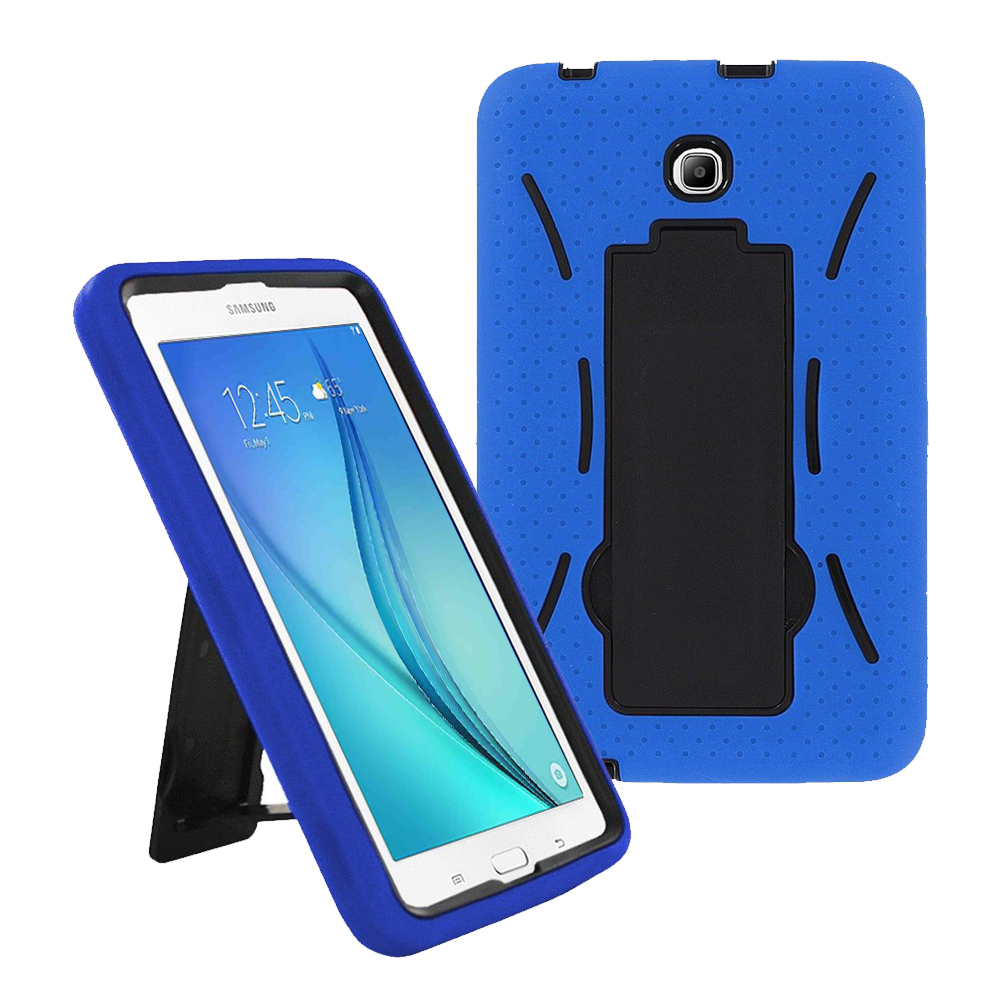 Samsung Galaxy Tab A 8.0 / T350 / T355 Hybrid Silicone Case Cover Stand Navy