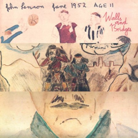 John Lennon - Walls and Bridges - Vinyl (Sonnenbrille John Lennon)