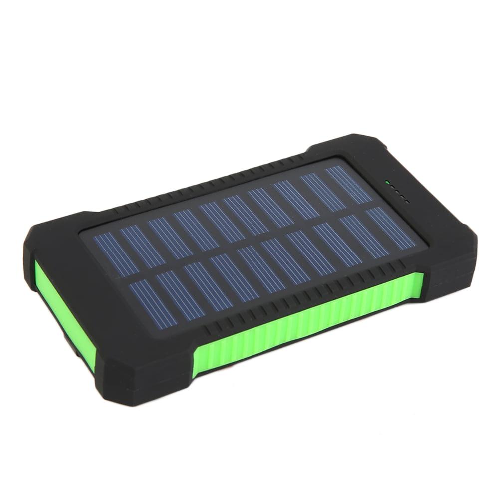 Solar Charger Solar Power Bank 300000mAh Dual USB Portable Solar Battery Charger Solar Power Bank High Capacity Environmentally-friendly(ABS... by