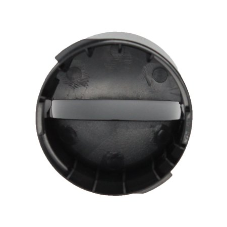 2260502B Refrigerator Water Filter Cap Replacement for Kenmore / Sears 10655612400 Refrigerator - Compatible with WP2260518B Black Water Filter Cap - UpStart Components Brand - image 2 de 4