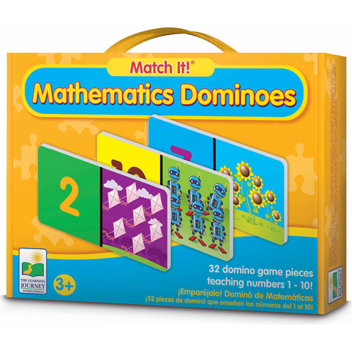 The Learning Journey Match It! Dominoes, Mathematics
