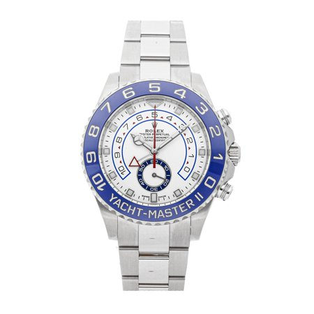 Pre-Owned Rolex Yacht-Master II 116680 Watch (Rolex Yacht Master Ii Stainless Steel Price)