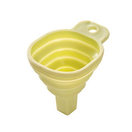 - Mini TPR Foldable Collapsible Funnel Shampoo Soy Sauce Dringk Hand Soap Hopper Kitchen Cooking Tools