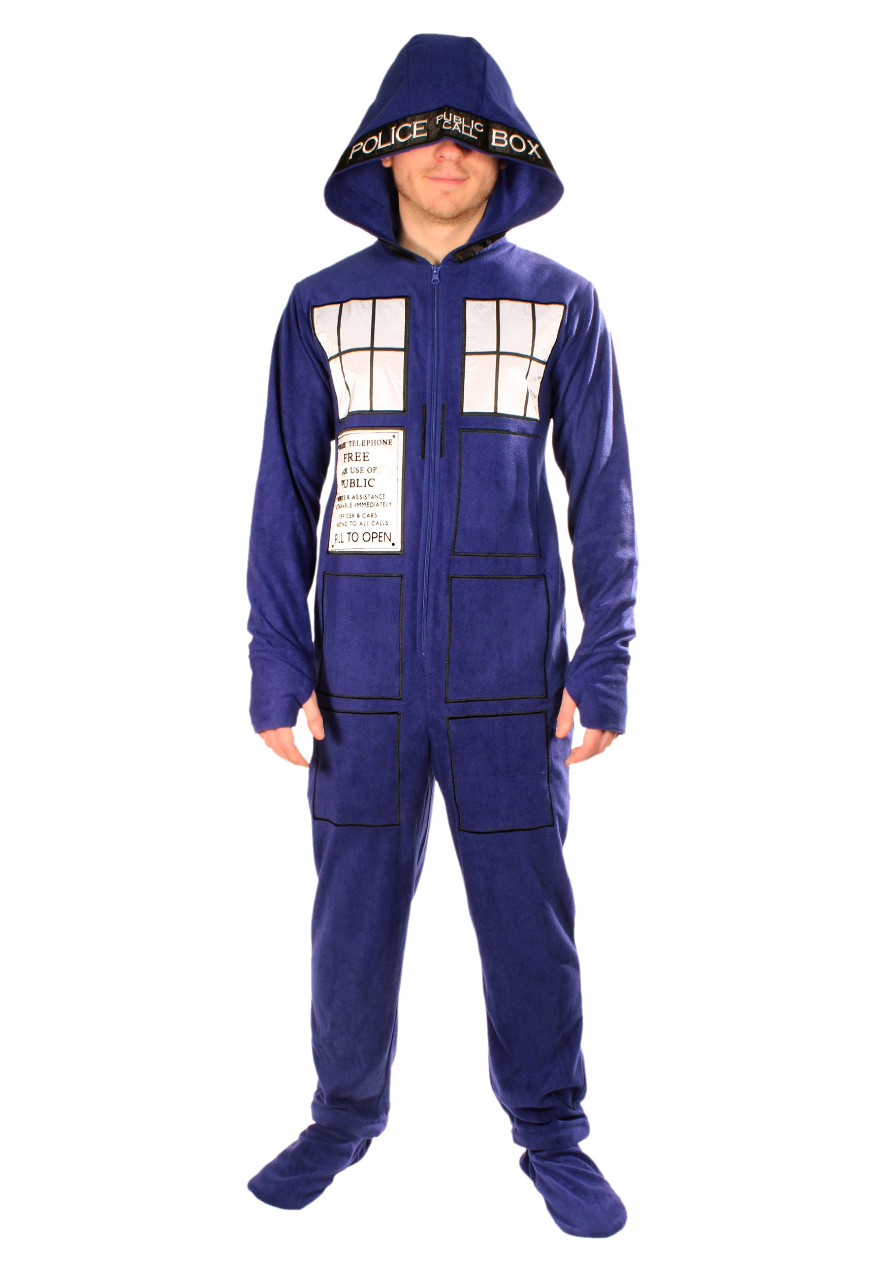 Doctor Who  Adult TARDIS Pajamas 15db83a37