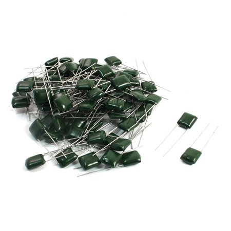 80PCS Polyester Film Capacitors Radial 2A473J 100V 0.047uF 47000pF - image 1 of 1