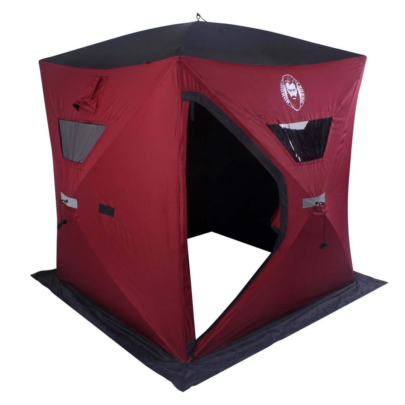 Nordic Legend Two Man Ice Shelter with FREE Bonus Ice Chairs! by Thunderbay