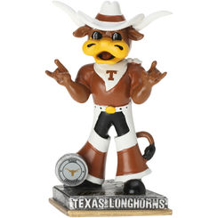 Bevo the Longhorn Texas Longhorns Springy Action Logo (2015) Bobblehead NCAA