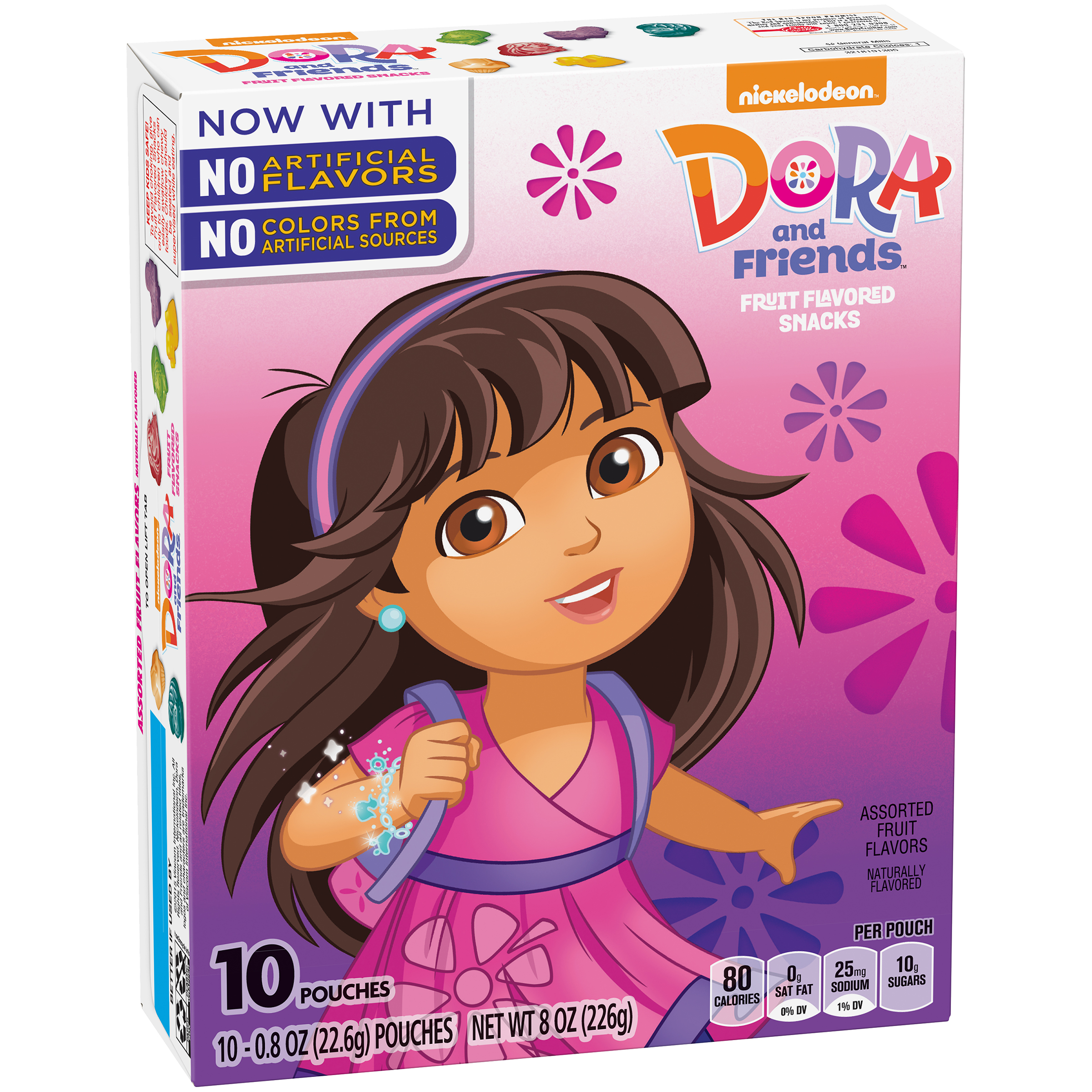 Dora and Friends��� Fruit Flavored Snacks 10 ct Box