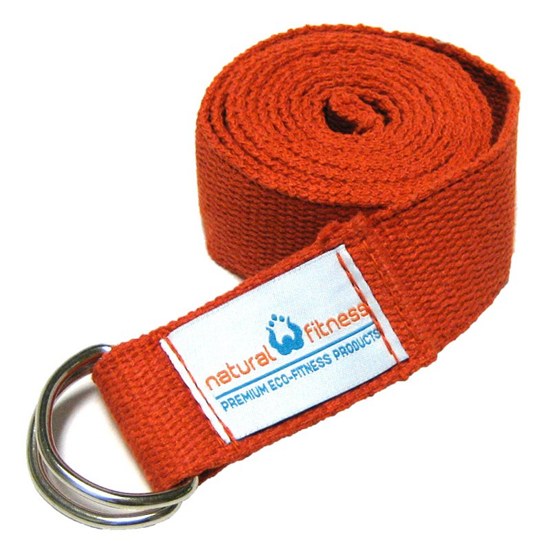 Natural Fitness Hemp Yoga SlingStrap - Flame