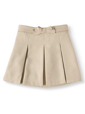 Wonder Nation Girls Plus School Uniform Bow Scooter (Plus)