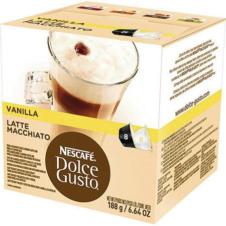 Latte Macchiato Cups (Capsules, Vanilla Latte Macchiato,)