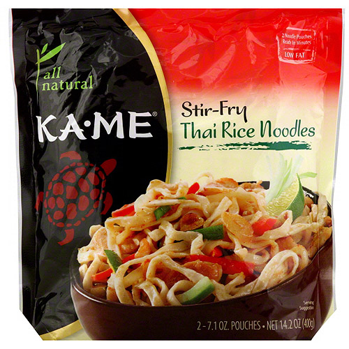 Ka-Me Stir-Fry Thai Rice Noodles, 14.2 oz (Pack of 6)
