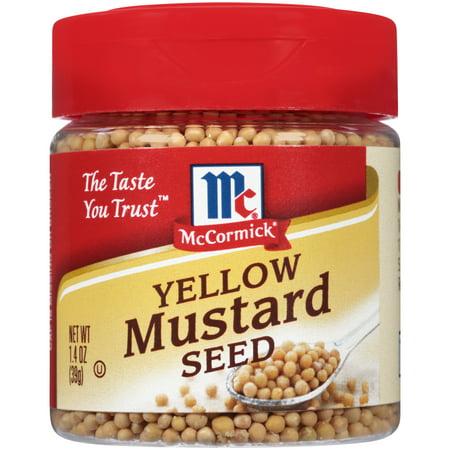 Mustard Seed Clasp ((2 Pack) McCormick Mustard Seed, 1.4)