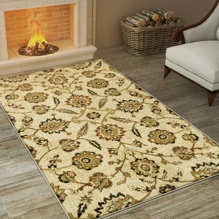 Traditional Canterbury Collection (Superior Canterbury Collection with 10mm Pile and Jute Backing, Moisture Resistant and Anti-Static Indoor Area)