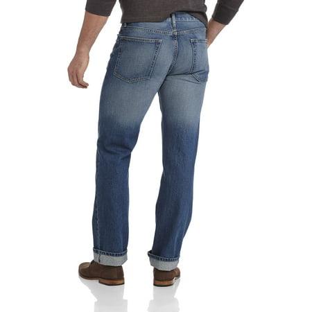 George Men S Bootcut Jeans Walmart Com