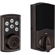 Kwikset 98880-005 SmartCode 888 Smart Lock Touchpad Electronic Deadbolt Door Lock with Z-Wave Plus Featuring SmartKey Security in Venetian Bronze (Refurbished)