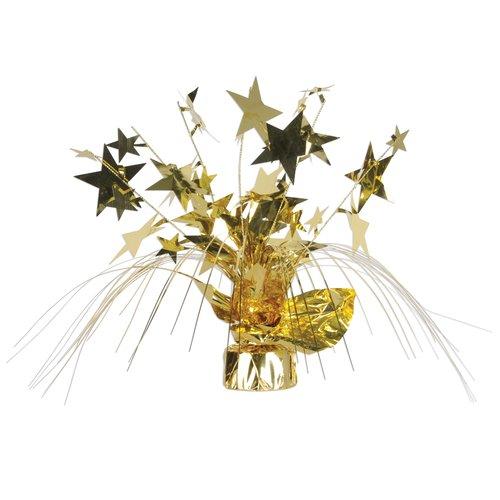 The Holiday Aisle New Years Star Gleam 'N Spray Centerpiece