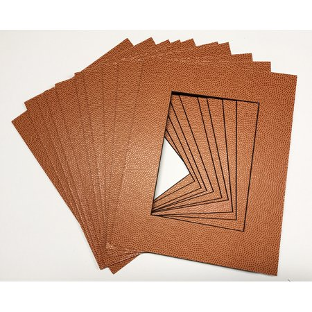 Brown Matboard - Real Basketball Sports Texture Mats