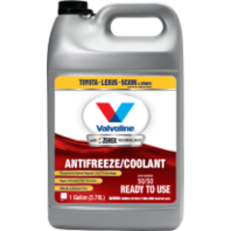 Valvoline Zerex Asian RED Vehicle Antifreeze / Coolant - 1 Gallon