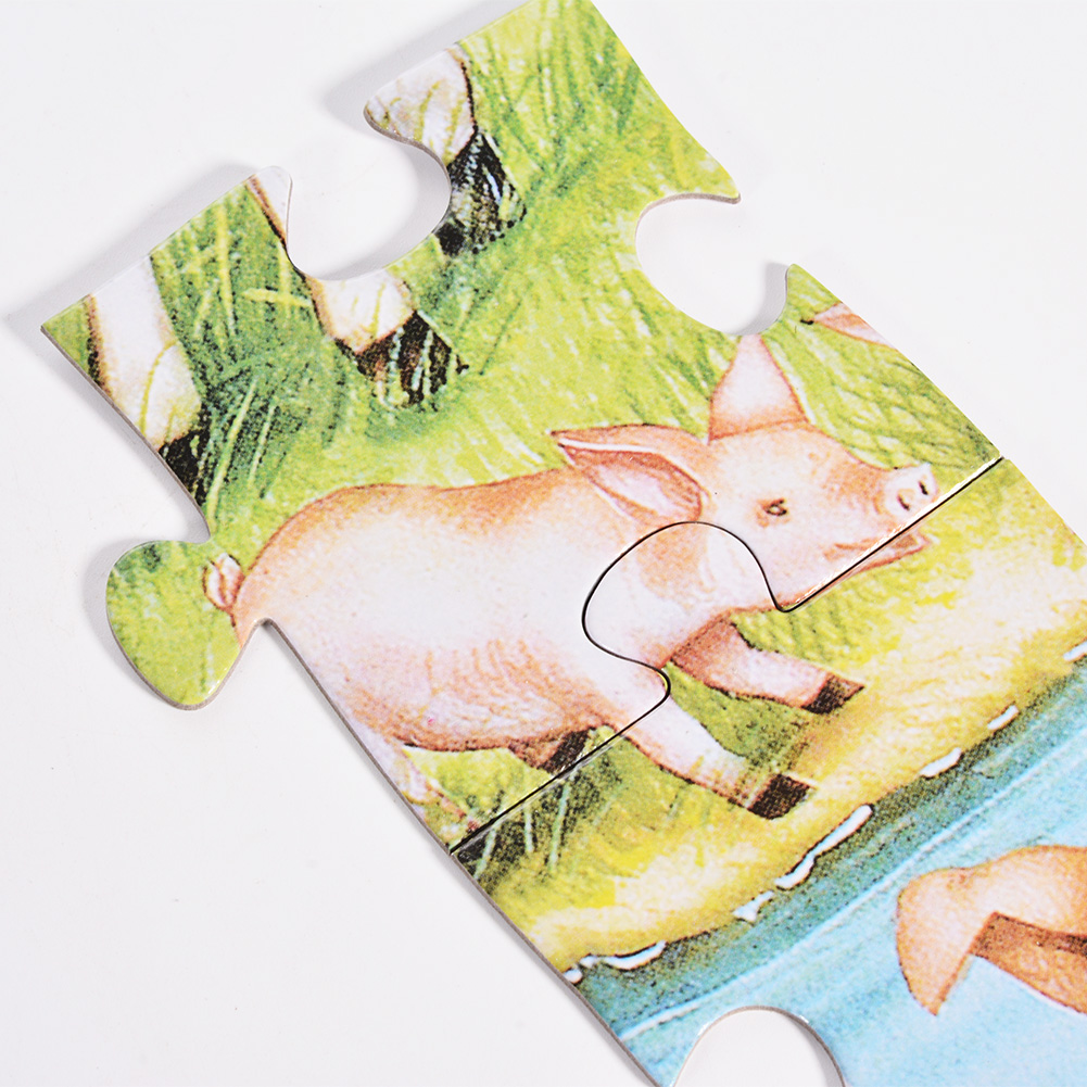 Country Farm Floor Puzzles Super Puzzle Set For Kids Children (Set of 2 Puzzles) by