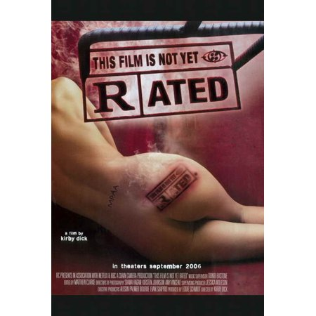 This Film Is Not Yet Rated Poster Movie  27X40
