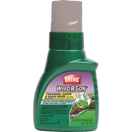 Ortho Weed B Gon Chickweed, Clover & Oxalis Killer for Lawns Concentrate, 16 oz