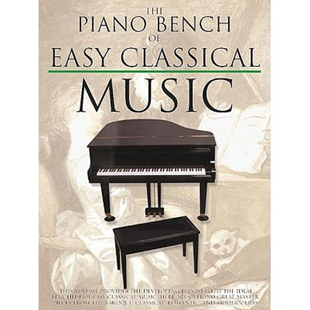 Piano Collections: The Piano Bench of Easy Classical Music (Paperback) - Classical Piano Music For Halloween