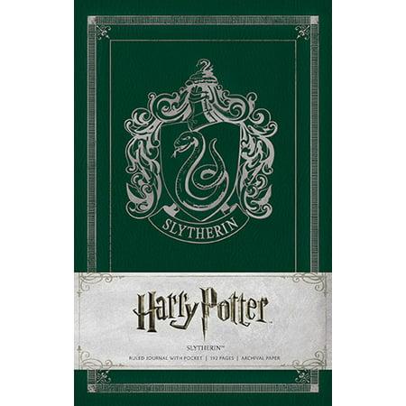 Harry Potter Slytherin Hardcover Ruled Journal