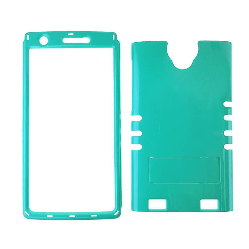 Rocker Series Snap-On Protector Case for ZTE ZMAX 2 (Pearl Fluorescent Blueish Green)