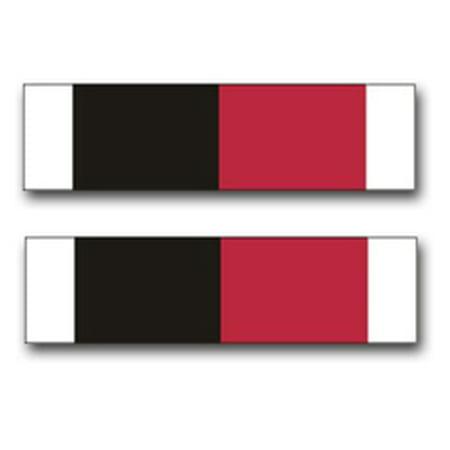 3.8 Inch Army World War II Occupation Medal Ribbon Vinyl Transfer (Army Of Occupation Medal)