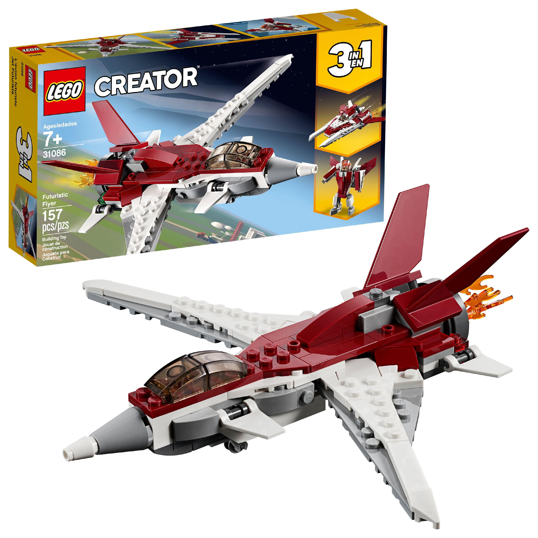 LEGO Creator 3in1 Futuristic Flyer 31086 Building Set