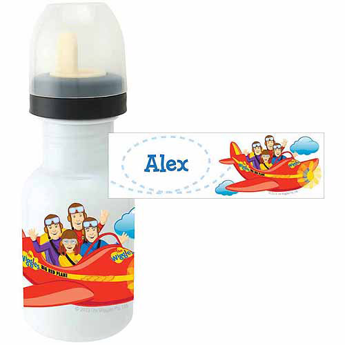 Personalized The Wiggles Big Red Plane Sippy Bottle