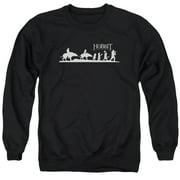 Hobbit Orc Company Mens Crewneck Sweatshirt