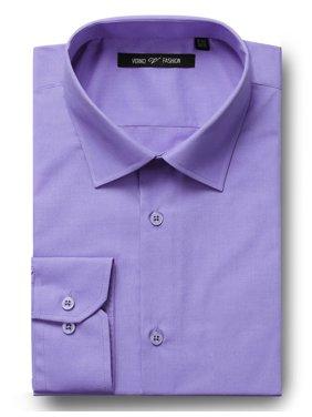 Men's Big & Tall Classic/Regular-Fit Solid Dress Shirt