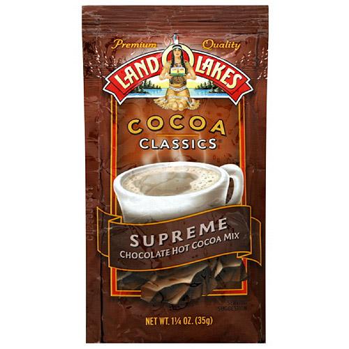 Land O Lakes Cocoa Classics Chocolate Supreme Hot Cocoa Mix, 1.25 oz (Pack of 12)