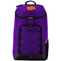 """NCAA Clemson Tigers """"Competitor"""" Top-Loader Backpack, 19"""" x 7"""" x 12"""""""