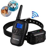 WALFRONT LCD Electric 100LV Levels Shock Vibra Pet Dog Training Remote Control E-Collar,LCD Electric 100LV Levels Shock Vibra Pet Dog Training Remote Control E-Collar