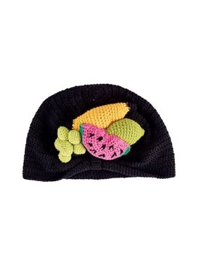 Infant San Diego Hat Company Crochet Fruit Basket Turban Beanie DL2542 Fruit XS (0-6M)